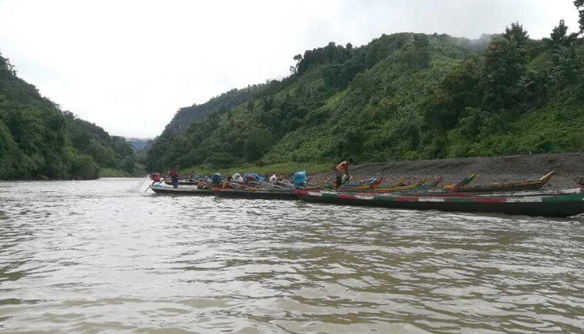 বান্দরবানের সাঙ্গু নদী